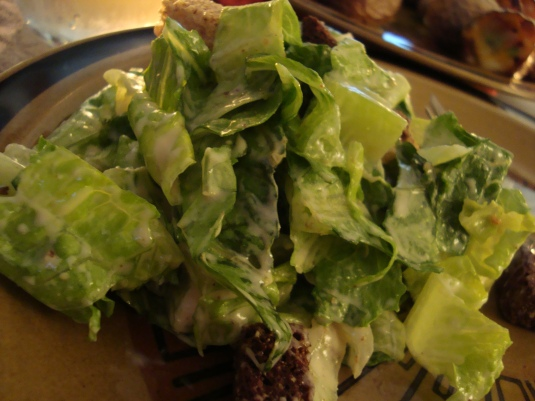 Homemade Caesar Dressing with a twist!